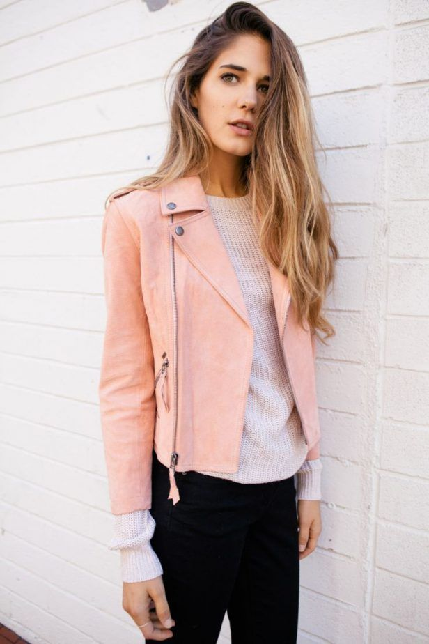 The 25  best Pink leather jackets ideas on Pinterest | Pink ...