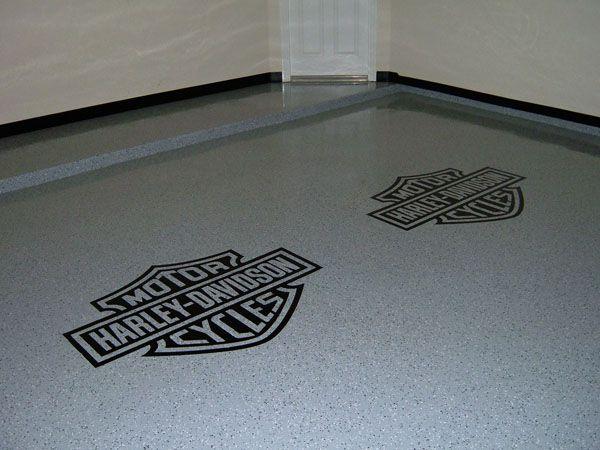 Harley Davidson Ideas Harley Davidson Garage Flooring
