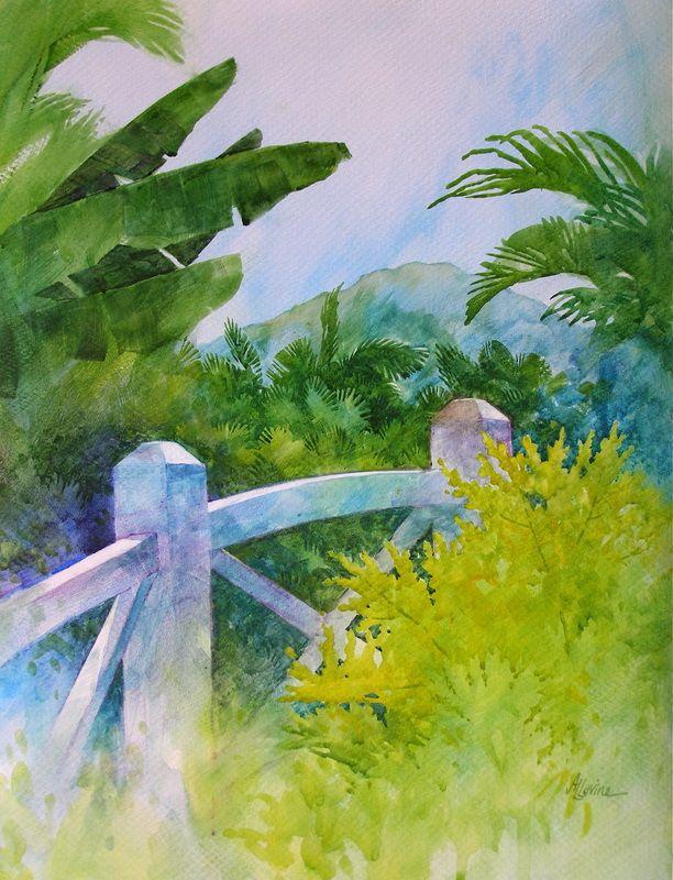 Tropical Splendor - by Alexis Lavine