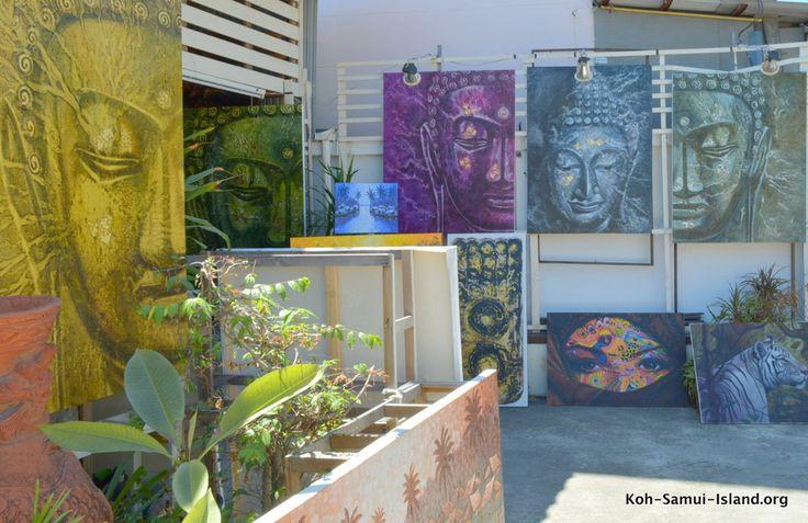 Art gallery Chaweng Koh Samui Thailand  #chaweng noi #kohsamui #thailand