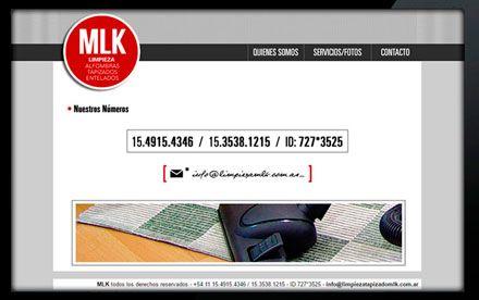 Diseño web MLK