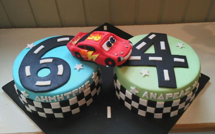 Lightning McQueen - Cake by nef_cake_deco