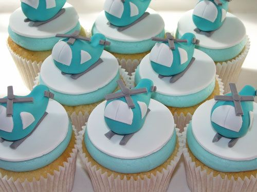 Beach House Bakery - Cupcakes Bristol & Bath - Helicopter Cupcakes