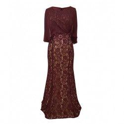 Φόρεμα μάξι μουσελίνα