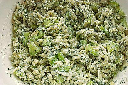 Kritharaki - Salat mit Schafskäse - Schmand - Dressing, ein sehr leckeres Rezept aus der Kategorie Gemüse. Bewertungen: 25. Durchschnitt: Ø 4,4.