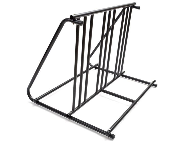 "6 Bikes Floor Mount Parking HD Steel Rack Storage Bicycle Yard Outdoor Stand. This bike rack parking stand is the perfect asset for any bicyclist. With its double sided rack design, it is capable of holding up to 6 bicycles. The frame is comprised of a sturdy 1"" steel tube frame with a protective black powder coat finish. This stand is ideal for garages, front yards, backyards, bike events, store fronts, or for any workplace. Frame can be permanently mounted for extra security. Stop…"