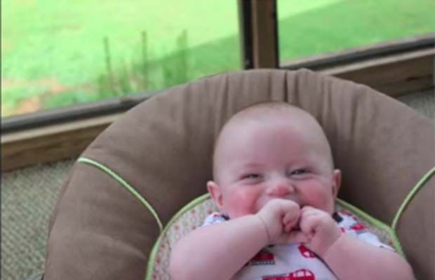 Adorable video: One-Year Timelapse of Newborn Baby