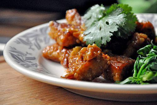101 Cookbooks: Orange Pan-Glazed Tempeh // neverhomemaker