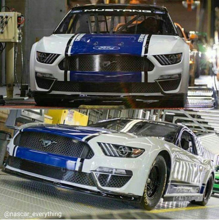 Nascar Cup Series Mustang