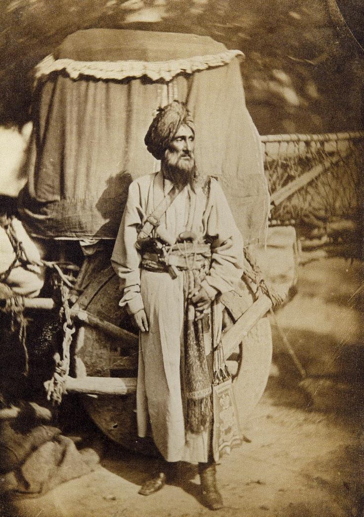 Pathan Native Officer-Punjab 1858 | Anthropology | Pinterest