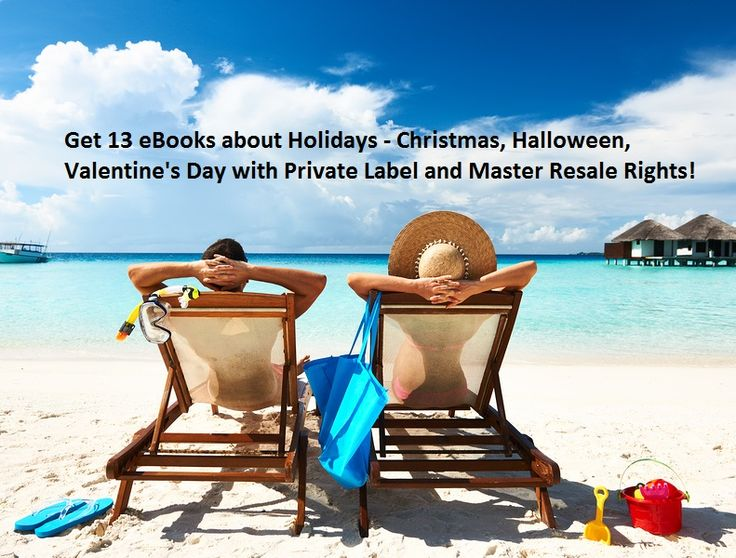 Get 13 #eBooks about #Holidays – #Christmas, #Halloween, #ValentinesDay with #PrivateLabel and #MasterResaleRights for only $4. Check out the offer here: http://digesale.com/jobs/ebooks-reports/get-13-ebooks-about-holidays-christmas-halloween-valentines-day-with-private-label-and-master-resale-rights/