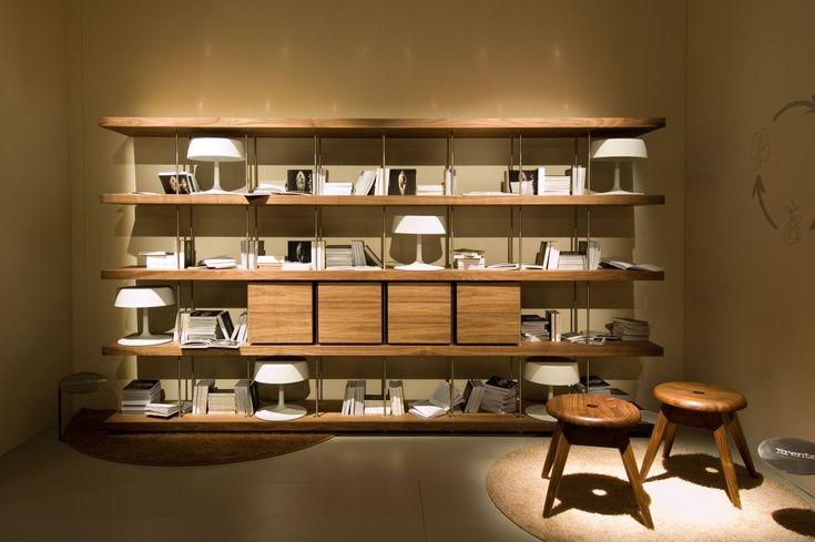 Libreria Studio Piano Design Riva 1920