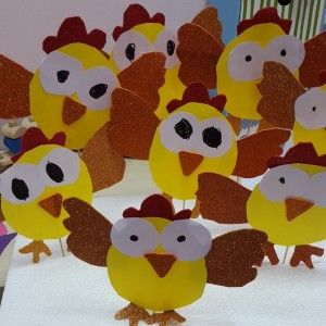 chicken craft idea for kids (4)