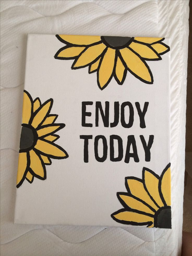 Cute college dorm canvas