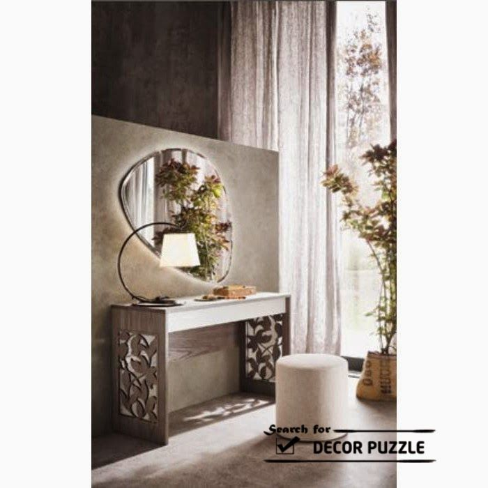 Dressing Table Designs And Ideas In Modern For Small Bedroom Wooden Wall Mounted Photos