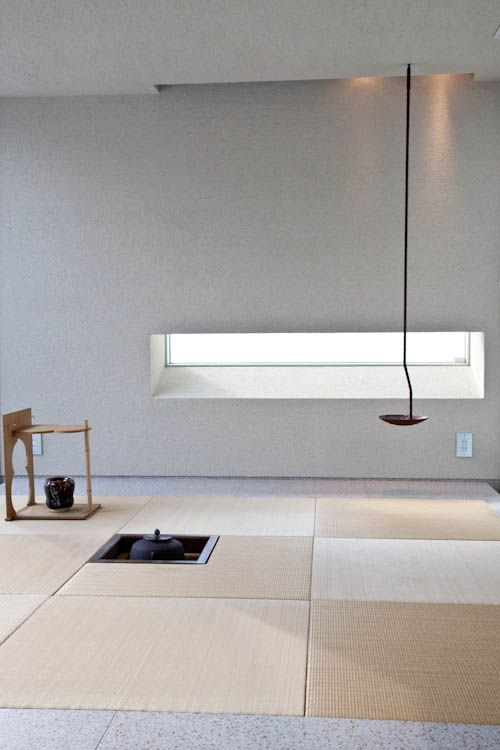 modern tea ceremony room