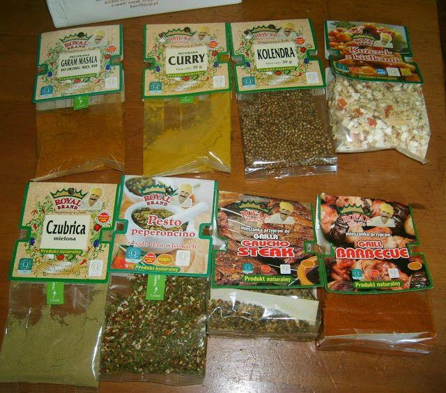 W Mojej Kuchni Lubię.. : aromatyczne przyprawy Royal Brand - nowa dostawa.....