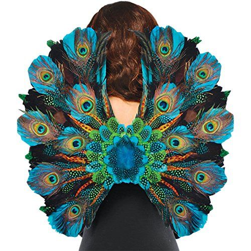 Peacock Feather Costume Cosplay Wings Amscan http://www.amazon.com/dp/B00434RGNI/ref=cm_sw_r_pi_dp_Htwmub114TY2T