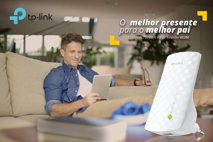 Wi-Fi em toda a casa! Onde há uma tomada, há Wi-Fi com os Adaptadores TP-Link de alta velocidade PLC.