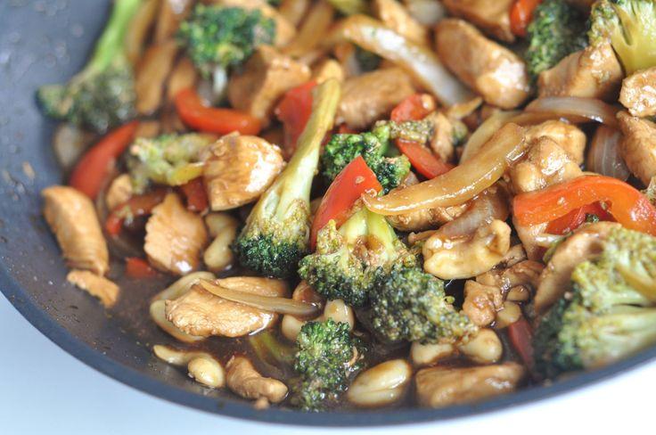 Ljuvligmat.se - en mat- och bakblogg - Chicken cashew