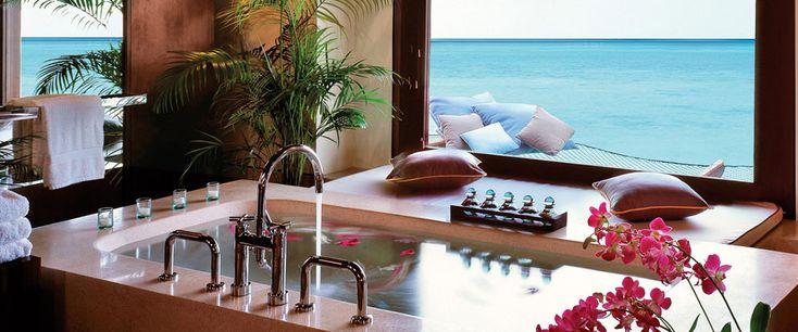 Water Villa Bathroom - One and Only Reethi Rah, Maldives