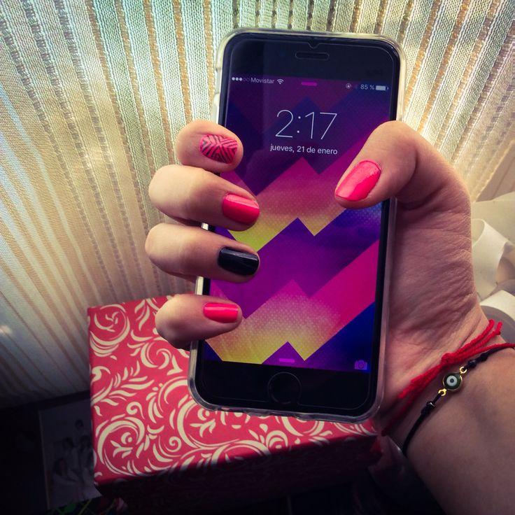 Nails and phone