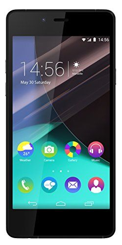 """awesome Wiko Highway pure - Terminal libre de 4.8"""" (LTE, WiFi, Bluetooth, Snapdragon 410 MSM8916 Quad Core 1.2 GHz, Cortex-A53, 2 GB de RAM, Android 4.4.4 KitKat) color negro y gris"""
