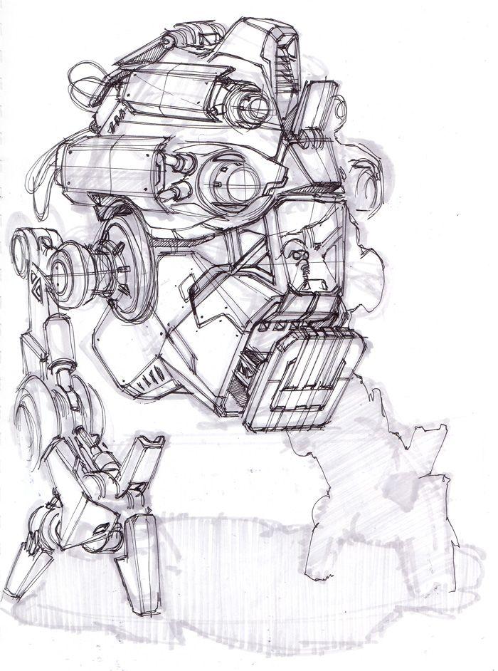 25  best ideas about robot sketch on pinterest