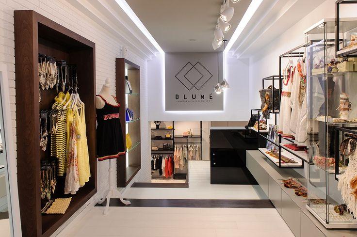 Blumé / equipoeme estudio #diseño #tienda #ropa #accesorios #mostrador