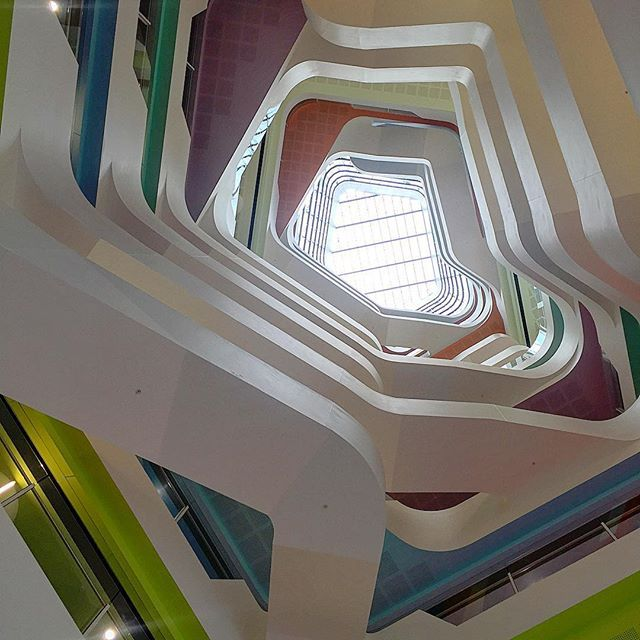 Medibank building–a place of creativity, interaction and engagement. 720 Bourke Street Docklands, Melbourne. Photo taken during Open House Melbourne 2015