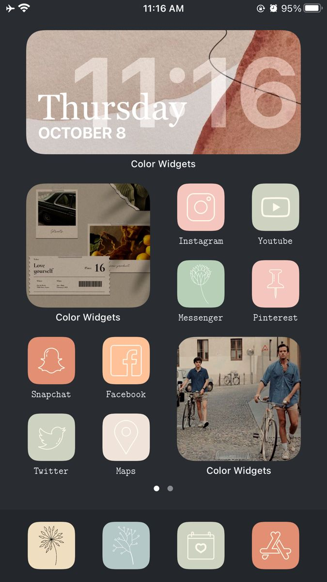 Call Me By Your Name Ios 14 App Pictures Iphone Icon Homescreen