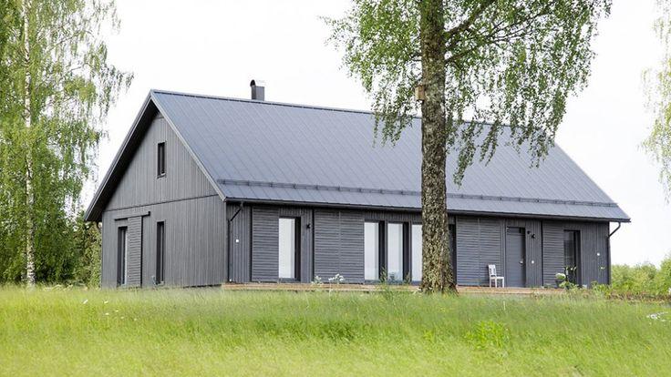 Kannustalo prefab houses made in Finland.