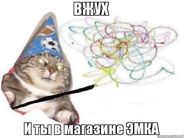 ВЖУХ И ты в магазине ЭМКА - Вжух - Кот волшебник