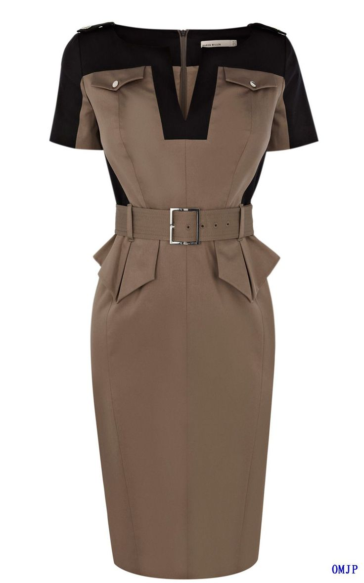 Safari Brown Dress | Karen Miller