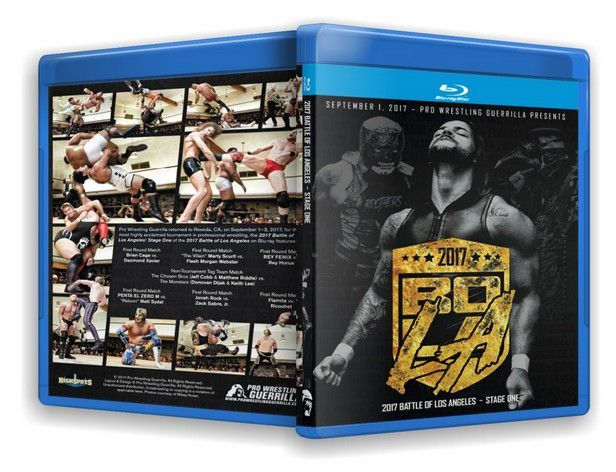 Pro Wrestling Guerrilla - Battle of Los Angeles 2017 Stage One Blu-Ray