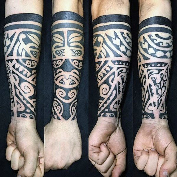 Tribal Upper Hand Tattoo Http Viraltattoo Net Tribal Upper Hand Tattoo Html In 2020 Tribal Tattoos For Men Tattoos For Guys Tribal Tattoos