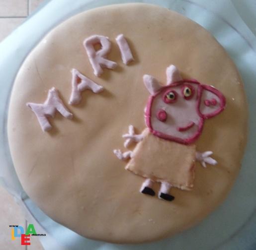 Torta di compleanno: Peppa Pig