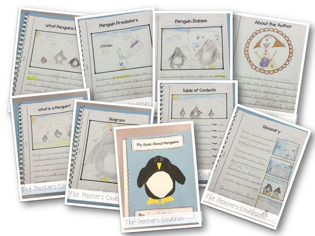 Tacky The Penguin Worksheets