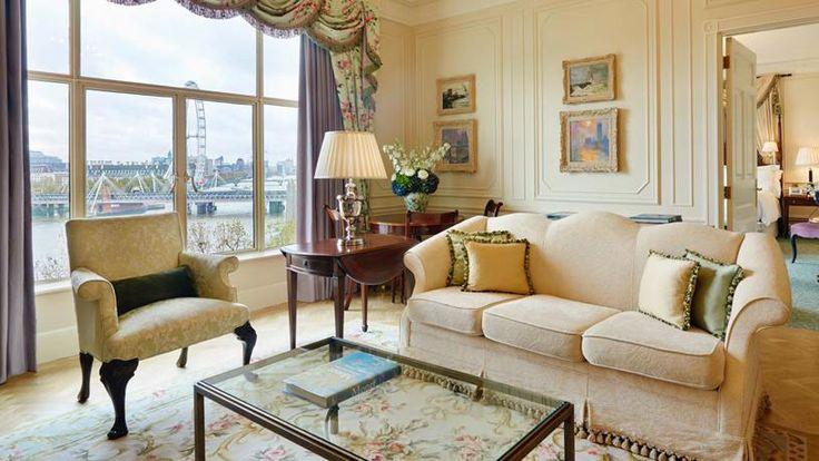 Habitación con vistas del hotel The Savoy, Londres