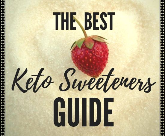 Our keto sweeteners guide includes 4 options for a low carb, low glycemic diet. If you are on a ketogenic diet, want to lose weight or help with your diabetes and/or other health issues related to sugar consumption - try a sugar alternative. Monk fruit, stevia, erythritol are all good choices.