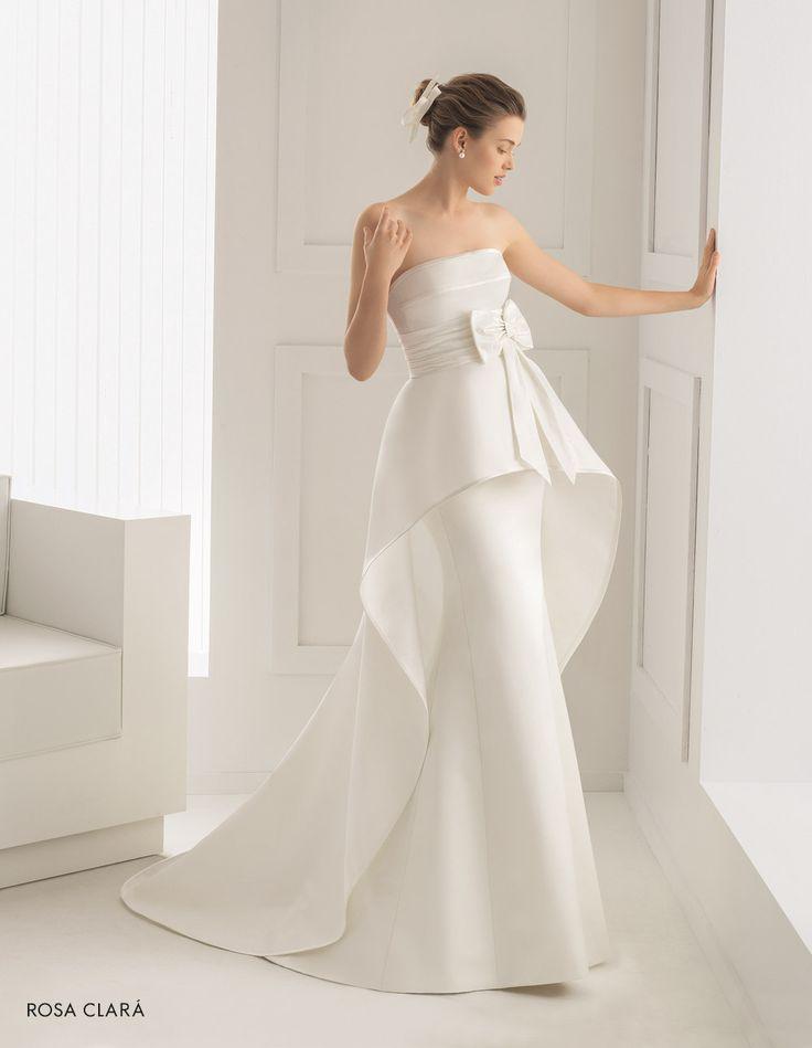 CHIC ROSA CLARÀ-5 Lavorazioni #artigianali e #tagli perfetti su abiti ed accessori, per #matrimoni di grande classe. www.mariages.it