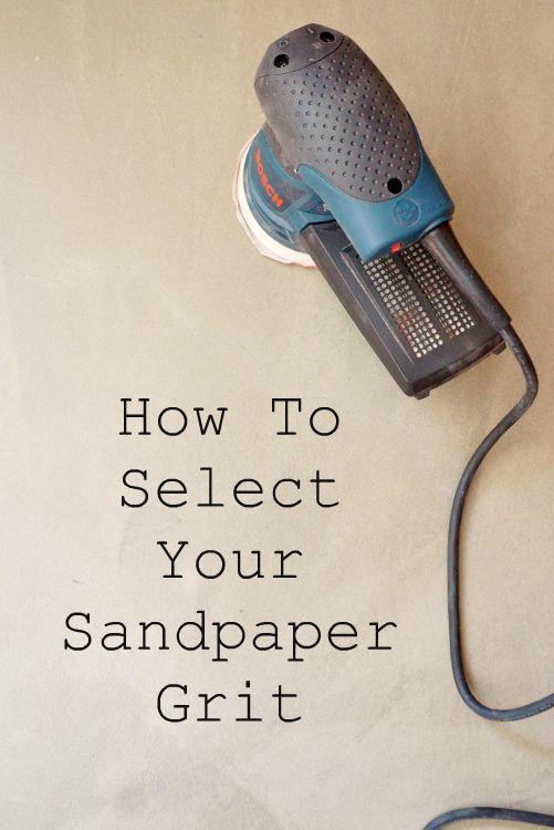 How to Select Your Sandpaper Grit for DIY Furniture Projects with Video - DIY Inspired