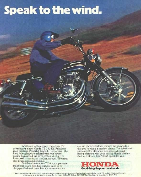 CB 750 Four K5 1975 Honda BikesVintage