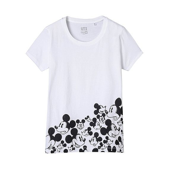 WOMEN DISNEY PROJ Crew Neck Short Sleeve T-Shirt