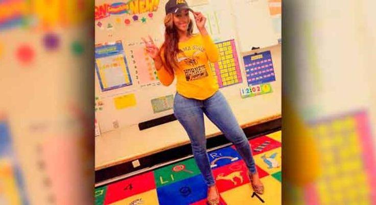 Maestra desata críticas por usar ropa 'provocativa' | EL DEBATE