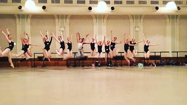 Happy jump!!! End of first week of our Summer Intensive! Group one! Wonderful to see how our students improved in 5days! Two more weeks to go! #irinaandmaxsummerintensive @irinaandmaxsummerintensive #summerintensive2016