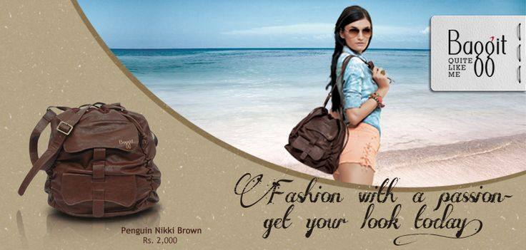 Penguin Nikki Brown: A stylish earthy youthful sling bag by Baggit.