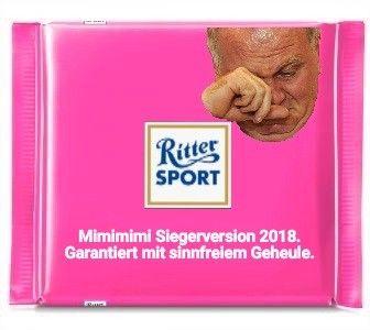 Ritter Sport Lustig Witzig Spruche Bild Bilder Uli Hoeness Mimimimi