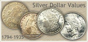 Visit...  Bust, Seated Liberty, Morgan and Peace Silver Dollars
