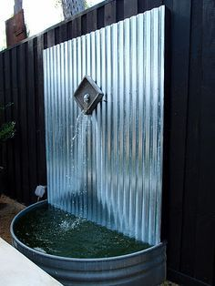 A very clever way to make a fountain~
